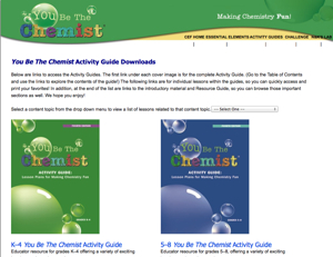 Resource of the Week: You Be The Chemist