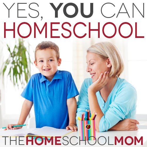 You can homeschool!